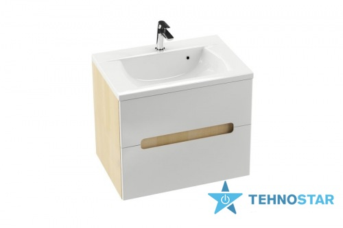 Фото - Тумба для умывальника Ravak Wash basin cupboard SD 800-L Classic II birch/white