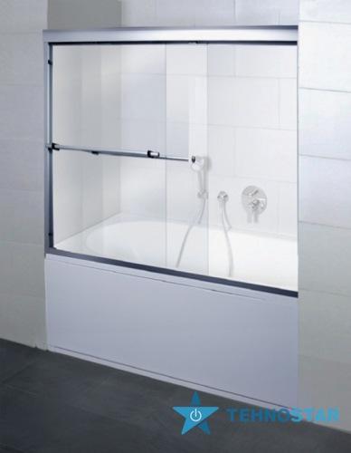 Фото - Шторка для ванны AM PM W55S-170-143MT BLISS