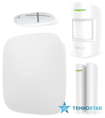 Фото - Smart контроллер Ajax StarterKit Plus White (000003811)