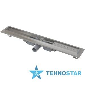 Фото - Трап для душевых кабин AlcaPlast APZ107-Floor Low- 300 с решеткой APZ107-FLOOR-300