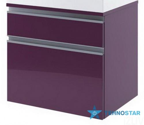 Фото - Тумба для умывальника Aquaform 0401-242803 PORTOFINO фиолетовый