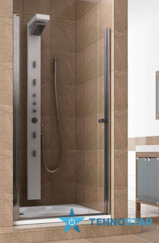 Фото - Душевая дверь Aquaform 103-05555 SILVA 800х1900 Хром/Скло прозоре R/L