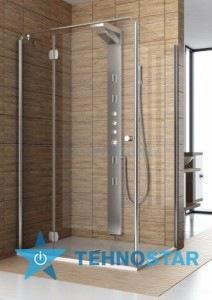 Фото - Душевая дверь Aquaform 103-06049 SOL DE LUXE 800х1900 Хром/Скло прозоре R/L