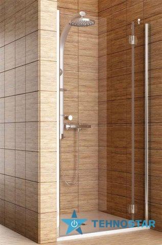 Фото - Душевая дверь Aquaform 103-06065 SOL DE LUXE 1000х1900 Хром/Скло прозоре R/L