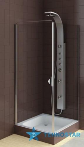 Фото - Душевая дверь Aquaform 103-06383 GLASS 5 900х1850 Хром/Скло прозоре