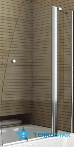 Фото - Шторка для ванны Aquaform 170-06975 DELI 1400 Хром/Скло прозоре