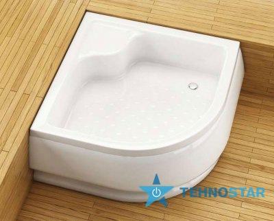 Фото - Душевой поддон Aquaform 200-18601 STANDARD R500 800х800 Білий