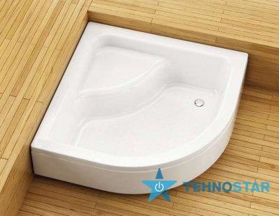 Фото - Душевой поддон Aquaform 200-18607 PLUS 550 800х800 Білий