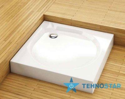 Фото - Душевой поддон Aquaform 201-06911 DELTA 90 900х900 Білий