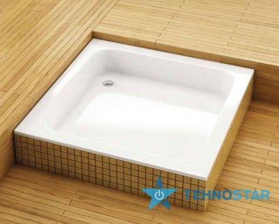 Фото - Душевой поддон Aquaform 201-18501 STANDARD 790х790 Білий