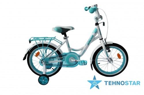 Фото - Велосипед Ardis  SMART 16  Бело-брюзовый глянец