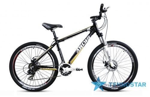 Фото - Велосипед Ardis ALPINA 26/ рама  21 Черно-золотистый глянец