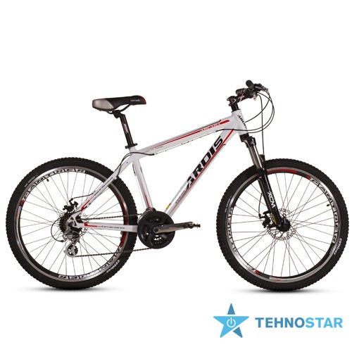 Фото - Велосипед Ardis ARCADA MTB 26 /рама 17 Бело - красно-черный глянец