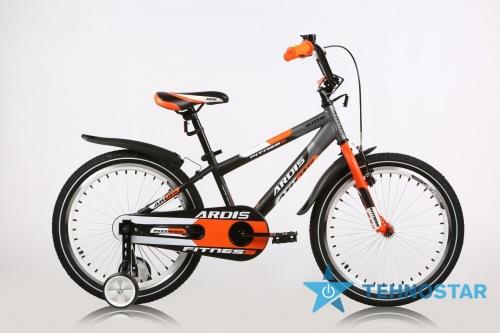 Фото - Велосипед Ardis FITNESS BMX 20 10 Черный-оранжевый-белый
