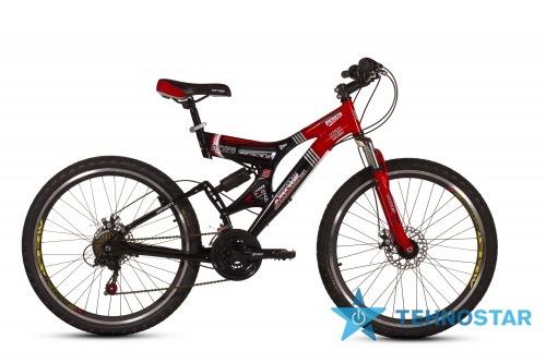 Фото - Велосипед Ardis INFINITY  26 / рама 19 Серо-красный глянец