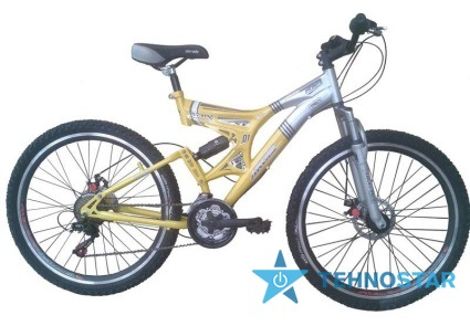 Фото - Велосипед Ardis INFINITY  26/ рама 19 Серо-желтый глянец