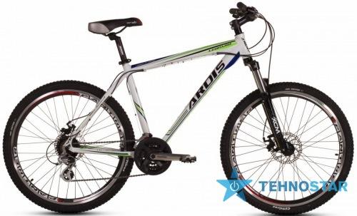 Фото - Велосипед Ardis LEOPARD 26/ рама 19 Бело - зелено-синий глянец