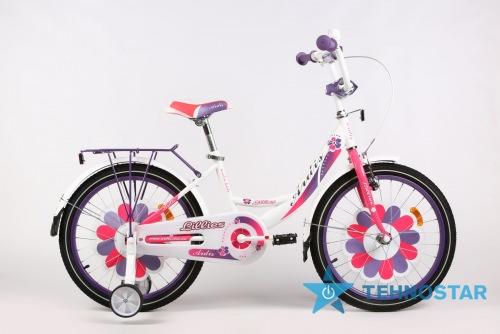 Фото - Велосипед Ardis LILLIES BMX  20 бело-сереневый глянец
