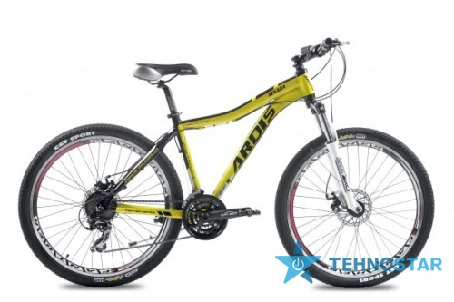 Фото - Велосипед Ardis Nevada 26/ рама 21 Черно-желтый глянец
