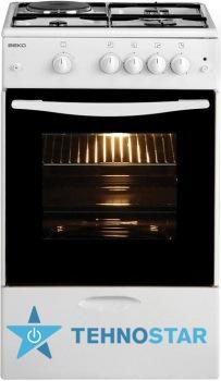 Фото - Комбинированная плита Beko CSG 42011 GW