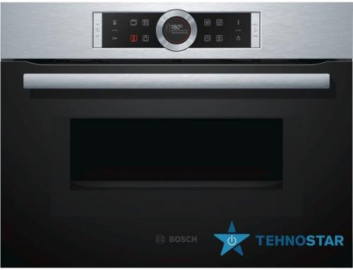 Фото - Электрический духовой шкаф Bosch CMG 633BS1