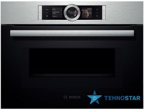 Фото - Электрический духовой шкаф Bosch CMG 636BS1