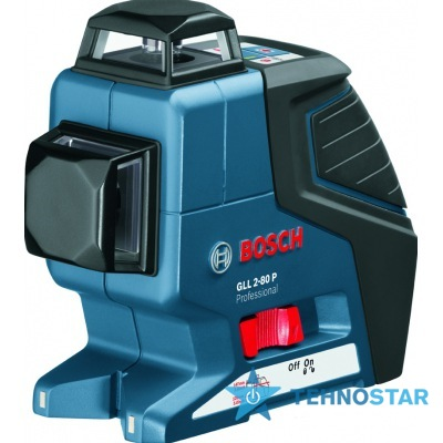 Фото - Нивелир Bosch GLL 2-80 P + вкладка под L-Boxx 0601063204