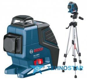 Фото - Нивелир Bosch GLL 2-80 P + BS 150 + вкладка под L-Boxx 0601063205