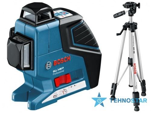 Фото - Нивелир Bosch GLL 3-80 P + BS 150 + вкладка под L-Boxx 0601063306