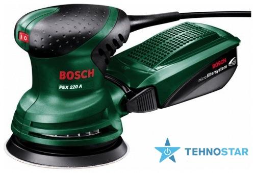 Фото - Шлифовальная машина Bosch PEX 220 A 0603378020