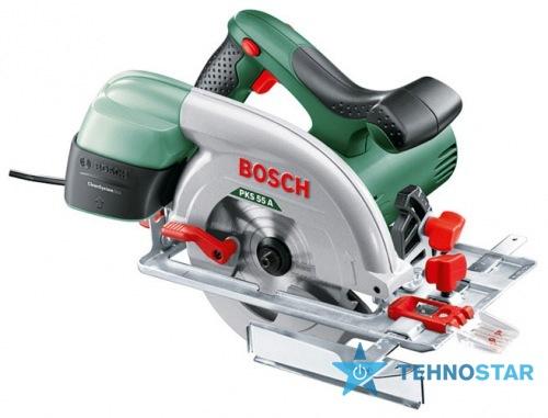 Фото - Электропила Bosch PKS 55 A 0603501020