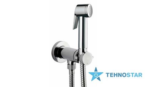 Фото - Гигиенический душ Bossini E37011B00030015 Paloma Flat Mixer Set, хром