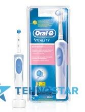 Фото - Электрическая зубная щетка Braun Oral-B Vitality  Sensitive/D12