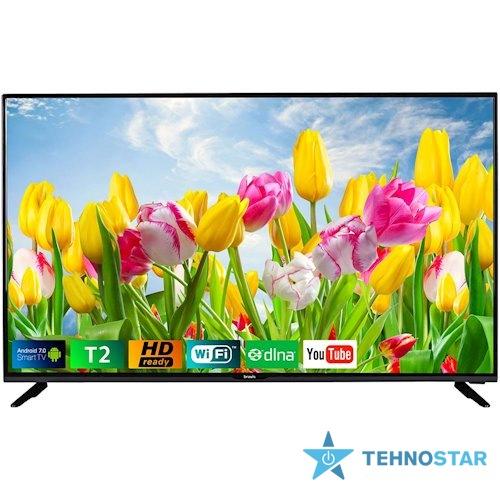 Фото - LED телевизор Bravis LED-43G5000 + T2 black