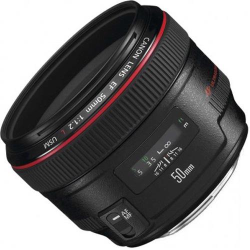 Фото - Объектив Canon EF 50mm f/1.2L USM