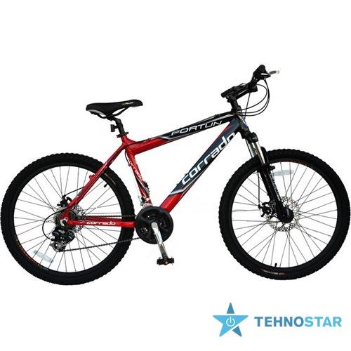 Фото - Велосипед Corrado FORTUN  26/ рама 18,5 черно красный