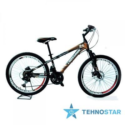 Фото - Велосипед Crossride STORM   24/ рама  13 серый