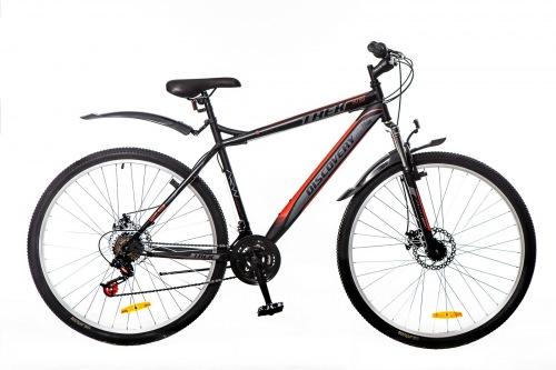 Фото - Велосипед Discovery TREK 29 AM 14G DD St черно-серо-красный 2016