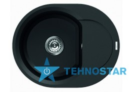 Фото - Мойка Elleci EASY ROUND FULL BLACK 40