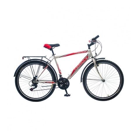 Фото - Велосипед Formula MAGNUM 26 AM 14G  Vbr   St с багажн. чёрно-красный  2016