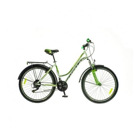 Фото - Велосипед Formula OMEGA 26 AM 14G  Vbr   St с багажн. бело-зелен.  2016