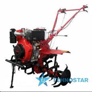 Фото - Мотокультиватор Forte HSD1G-105E (колеса 8