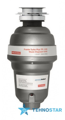Фото -  Franke TURBO PLUS TP-125 (134.0287.933)