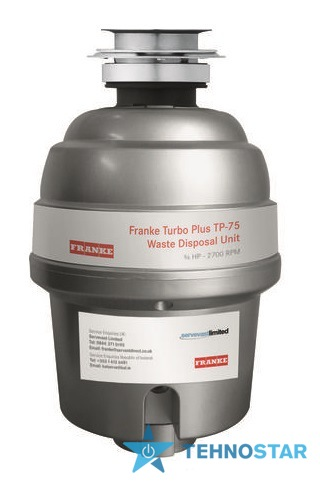 Фото -  Franke TURBO PLUS TP-75 (134.0287.932)