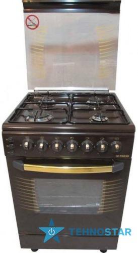 Фото - Комбинированная плита Fresh C63K52Е/01 коричневая