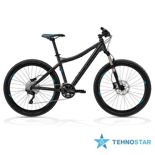 Фото - Велосипед Ghost MISS 8000 grey/black/petrol RH52 2013