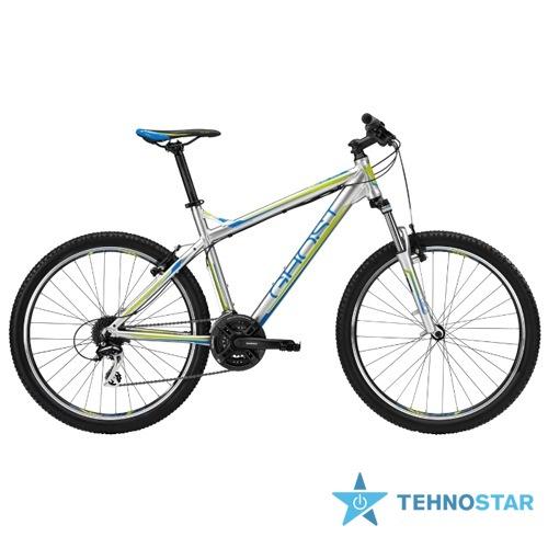 Фото - Велосипед Ghost SE 1300 grey/blue/lime green RH34 2013