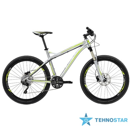 Фото - Велосипед Ghost SE 5000 grey/grey/lime green RH44 2013