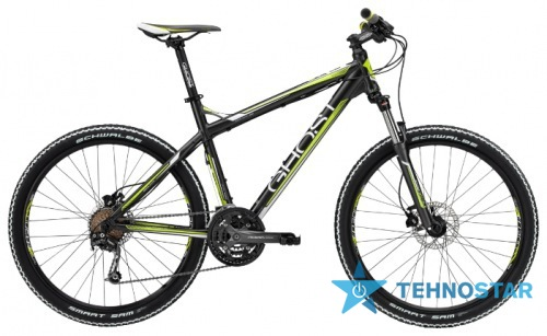 Фото - Велосипед Ghost SE 2000 grey/white/lime green RH34 2013
