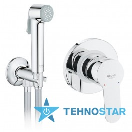 Фото - Гигиенический душ Grohe 28343001 BauEdge 29040000 chrome 26358000